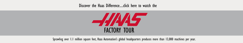 Take the Haas Factory Tour